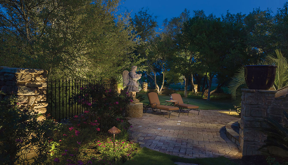 patio furniture nightscaping cincotta landscape design